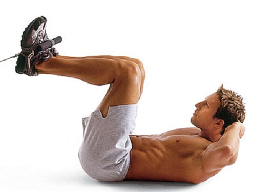 crunches exercices abdos