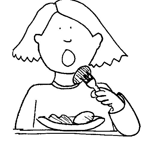 Arrêter de manger pour maigrir et mangez des fruits et faite du sport