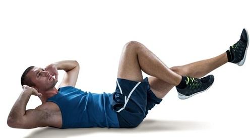 L'exercice du pédalage pour perdre du ventre