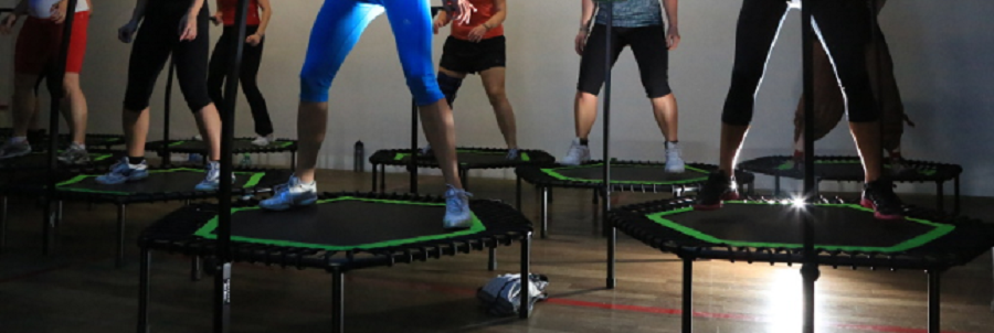 Prot/ège-rebord de trampoline rond 100/cm Trampoline Sant/é Fitness Mini Trampoline Fun Jumping Noir 1/m...