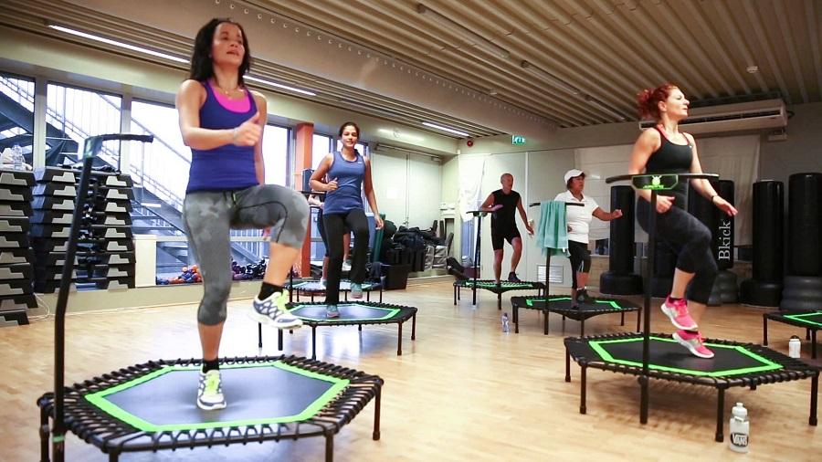 meilleur trampoline fitness pas cher