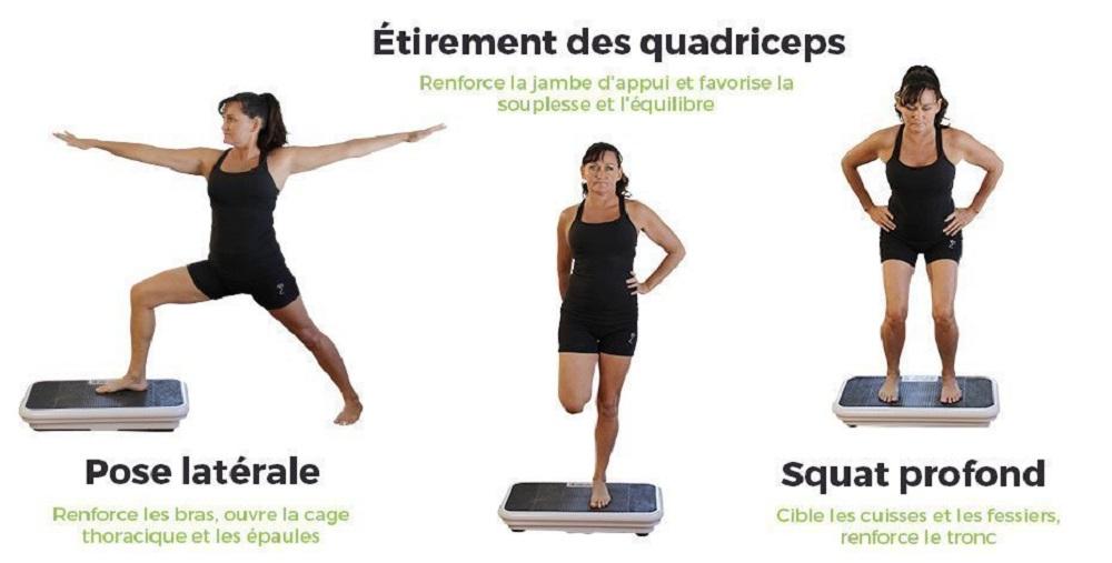 Exercice Plateforme vibrante pour maigrir et perdre du poids